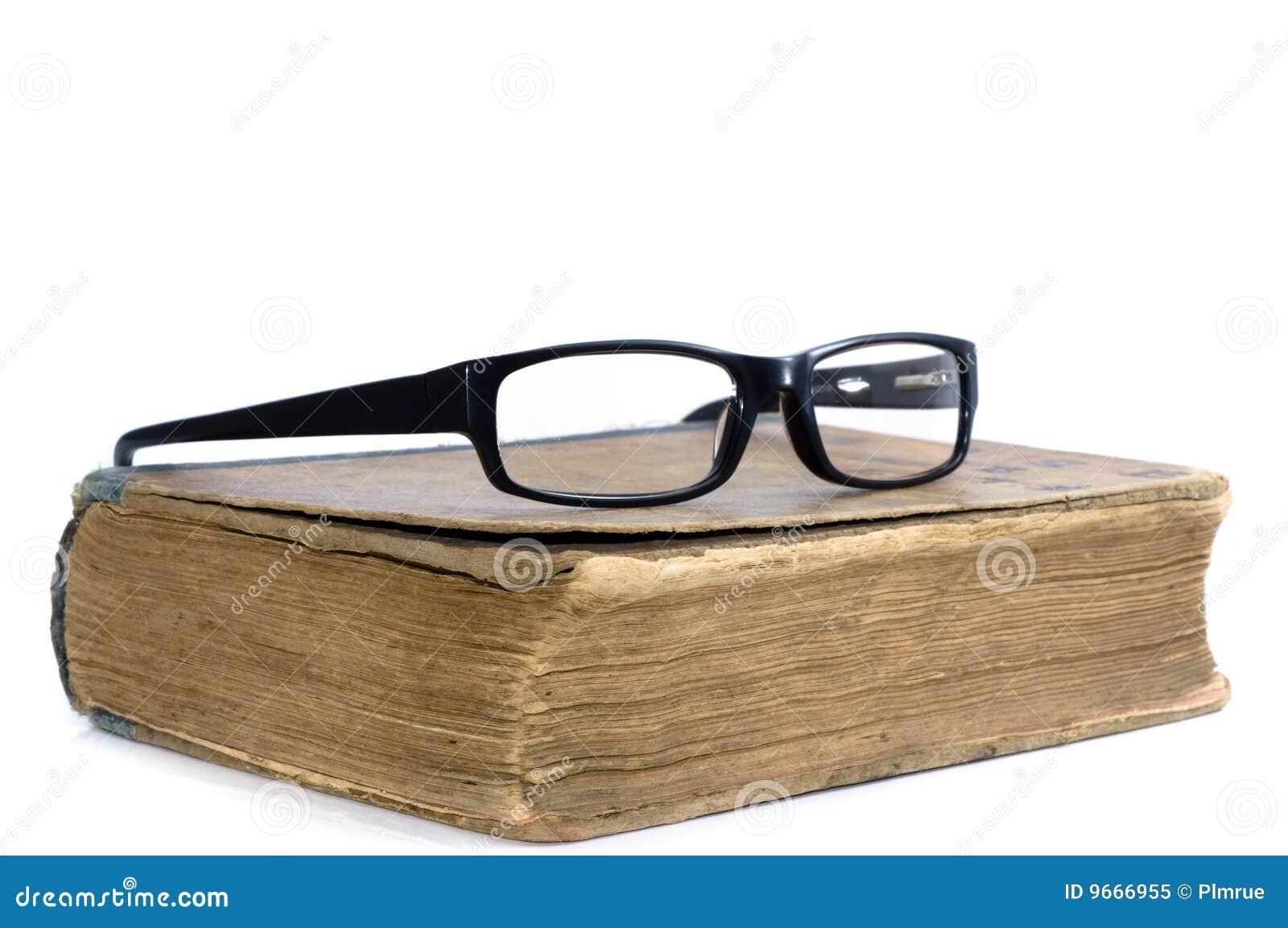 Glaces de livre vieilles