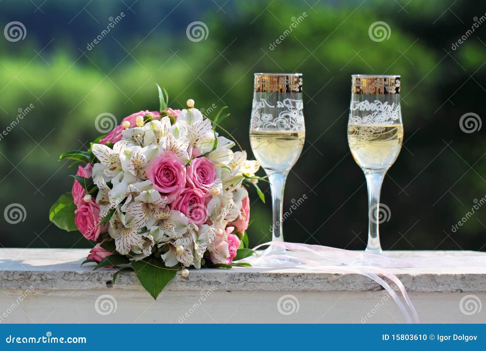 Glaces de mariage