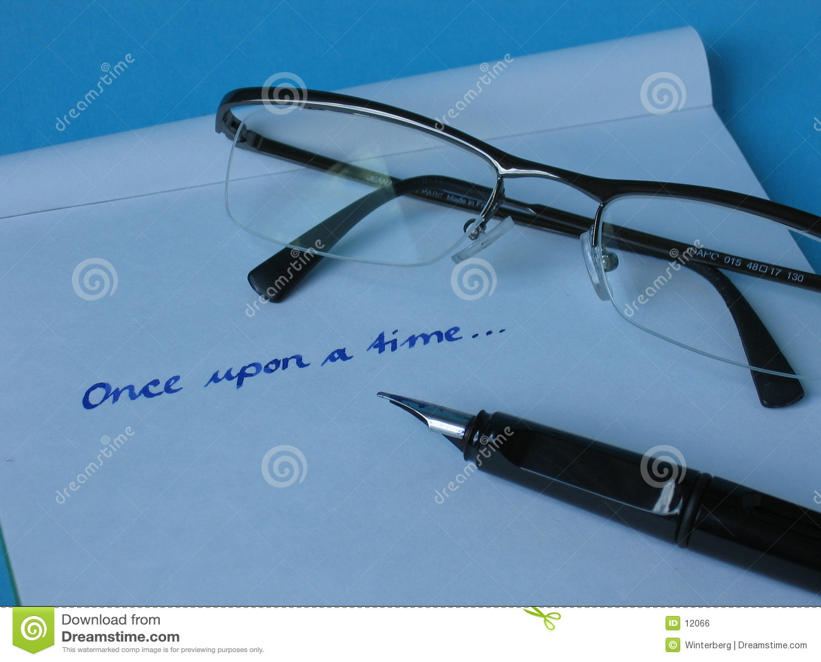 Glaces de papier de crayon lecteur