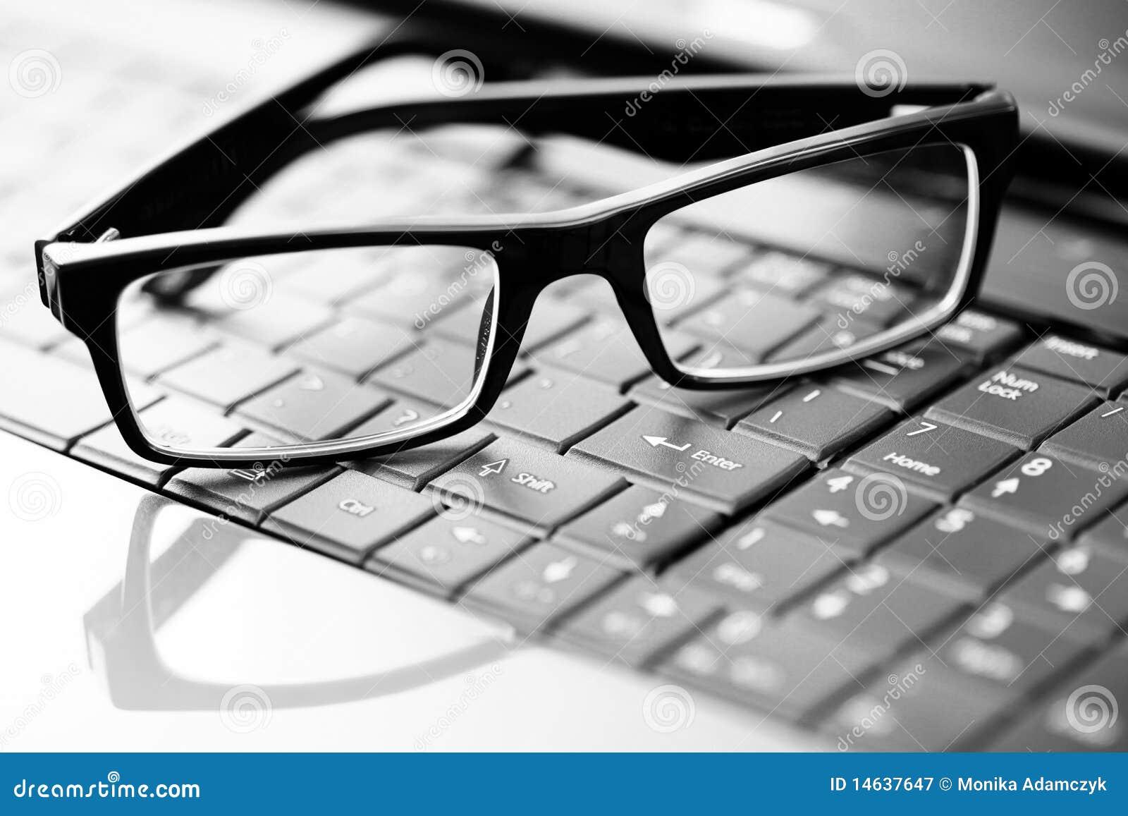 Glaces sur l ordinateur portatif