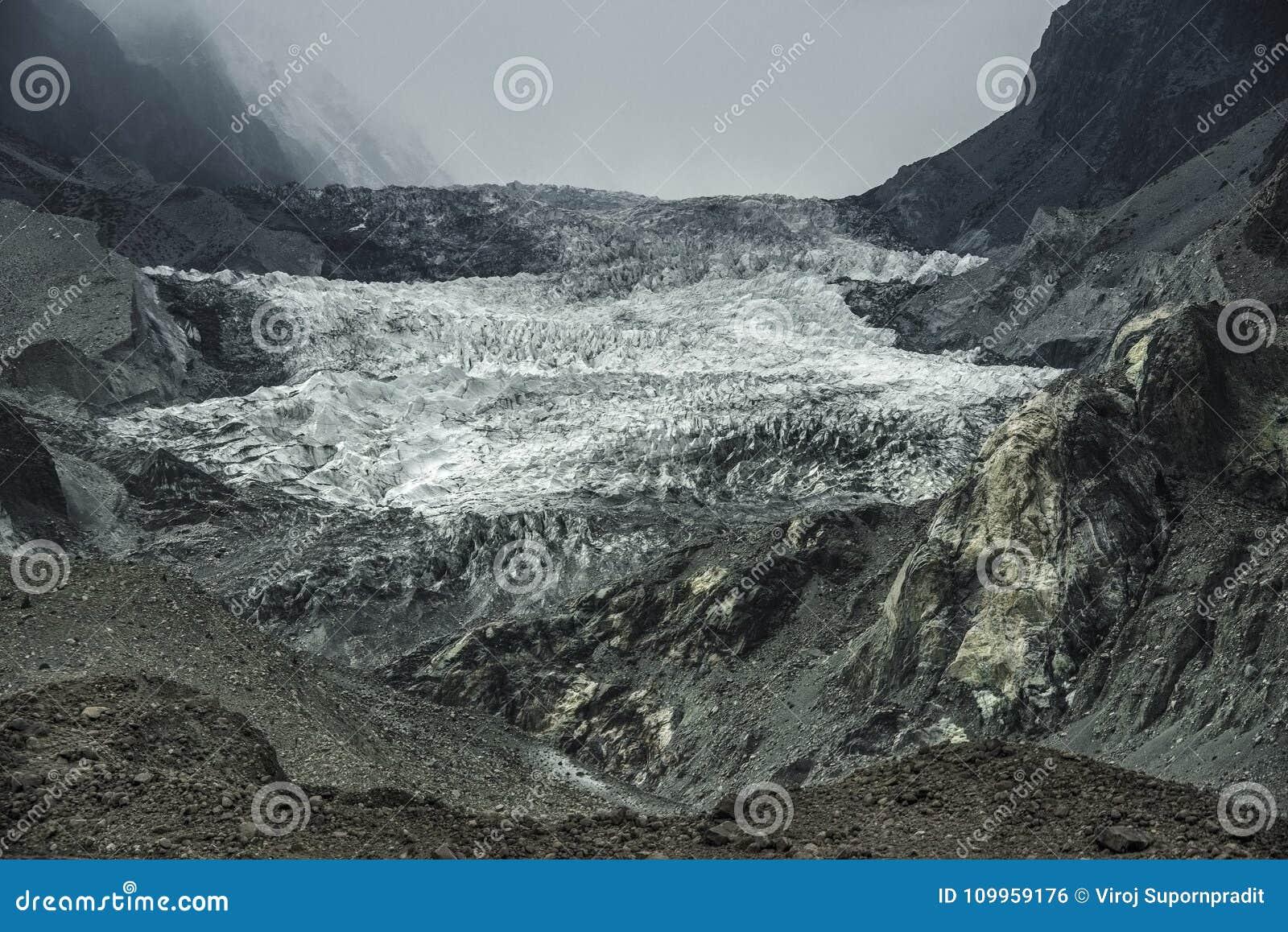 Glaciar de Passu, Paquistán