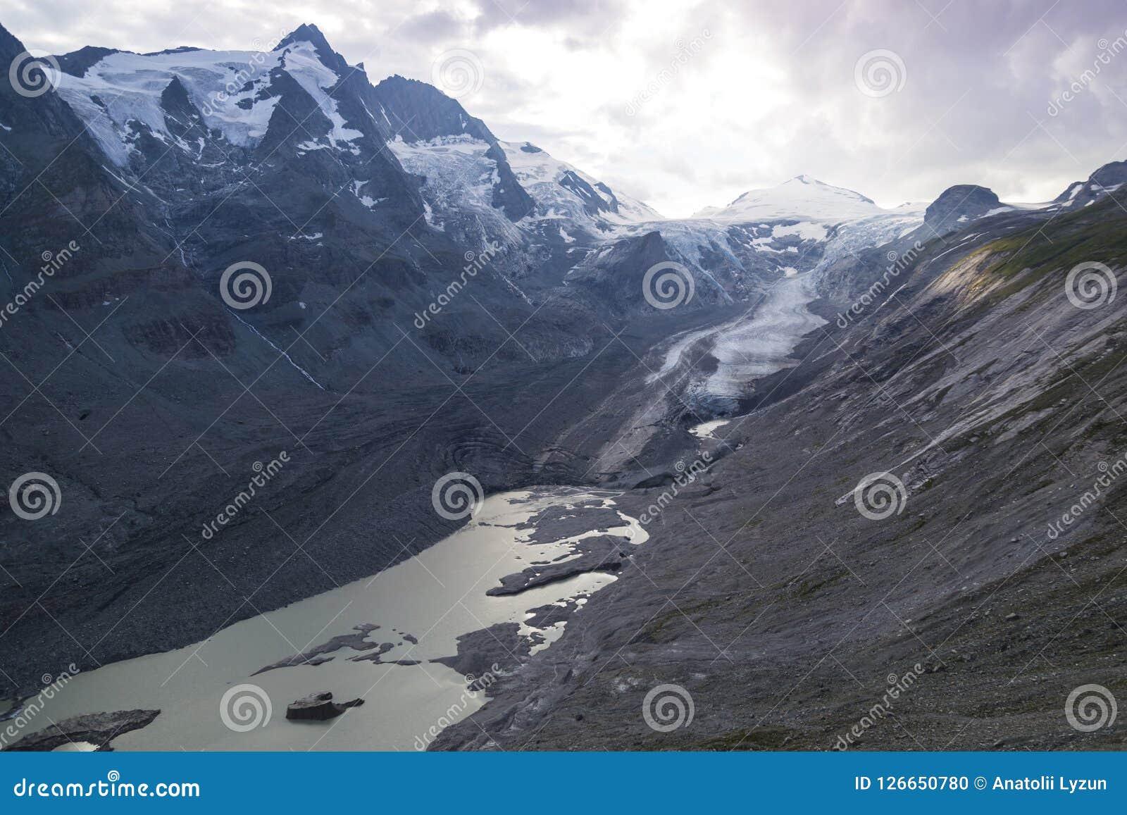 Glaciar de Pasterze Alto camino alpestre de Grossglockner austria