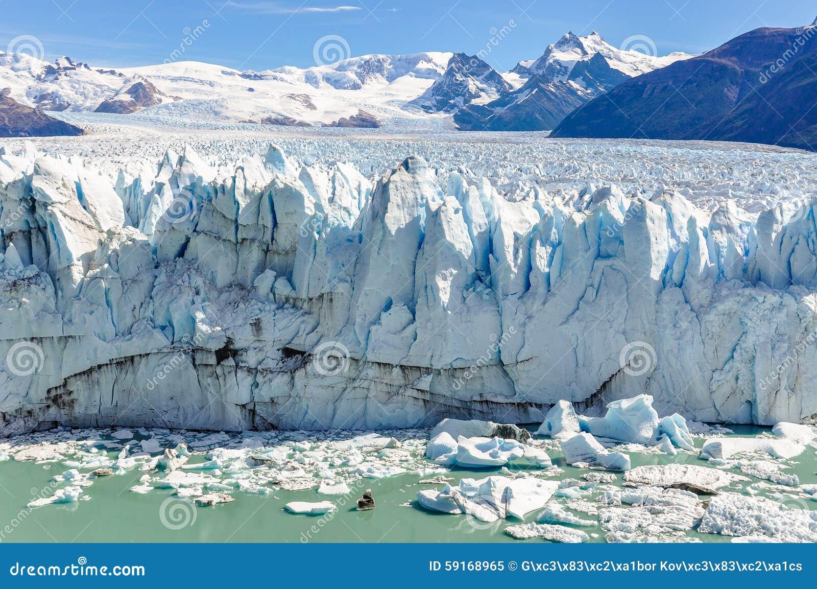 Glaciar de Perito Moreno, la Argentina