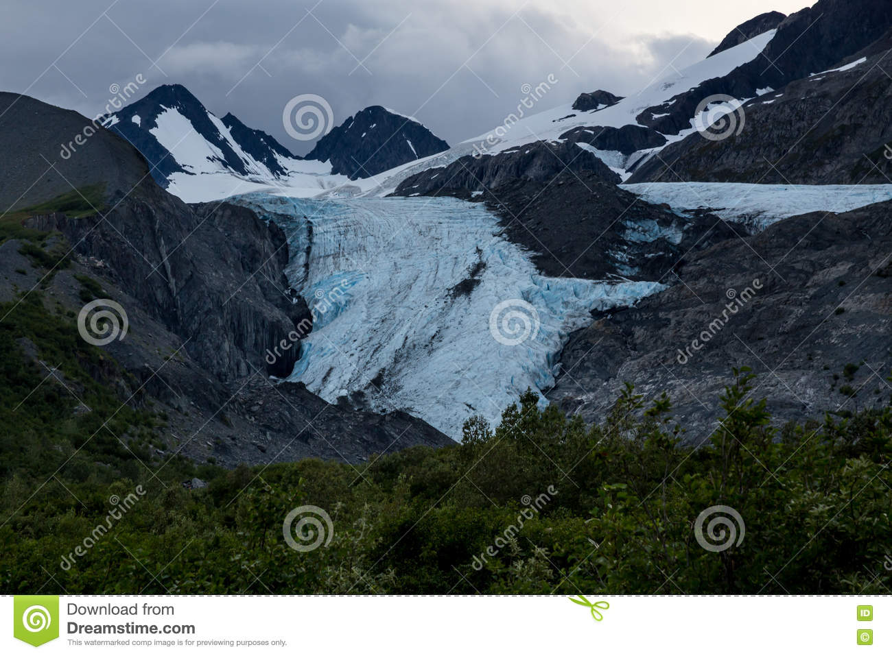 Glaciar de Worthington
