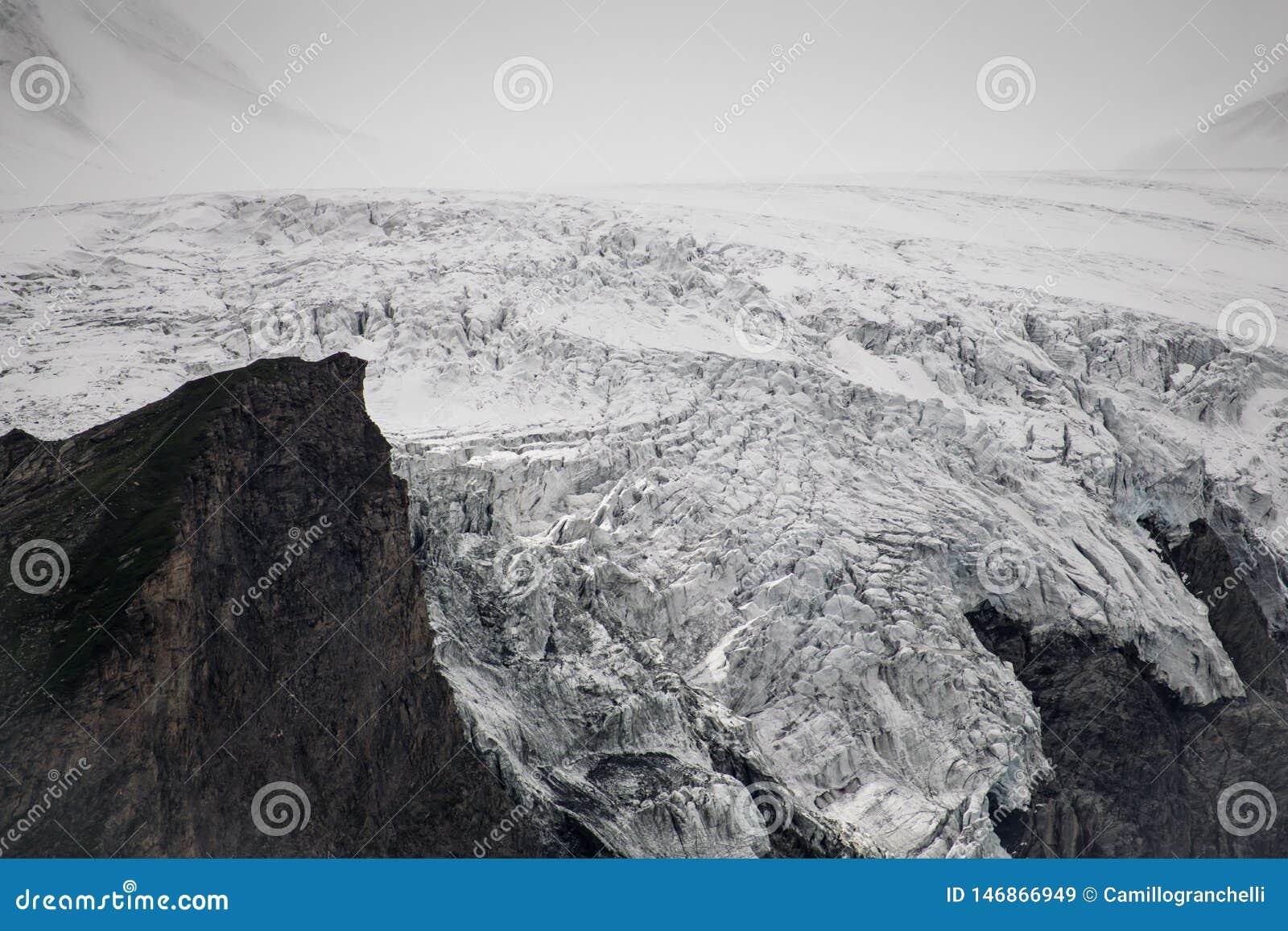 Glacier autrichien de Grossglockner au coeur du parc national de Hohe Tauern