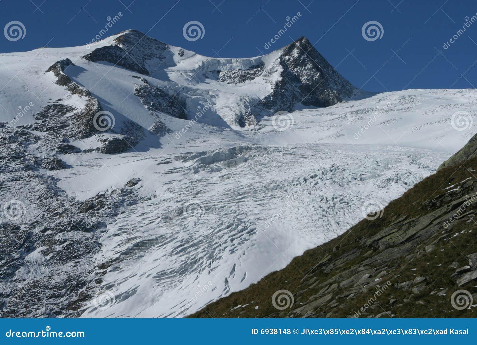 Glacier d alpes