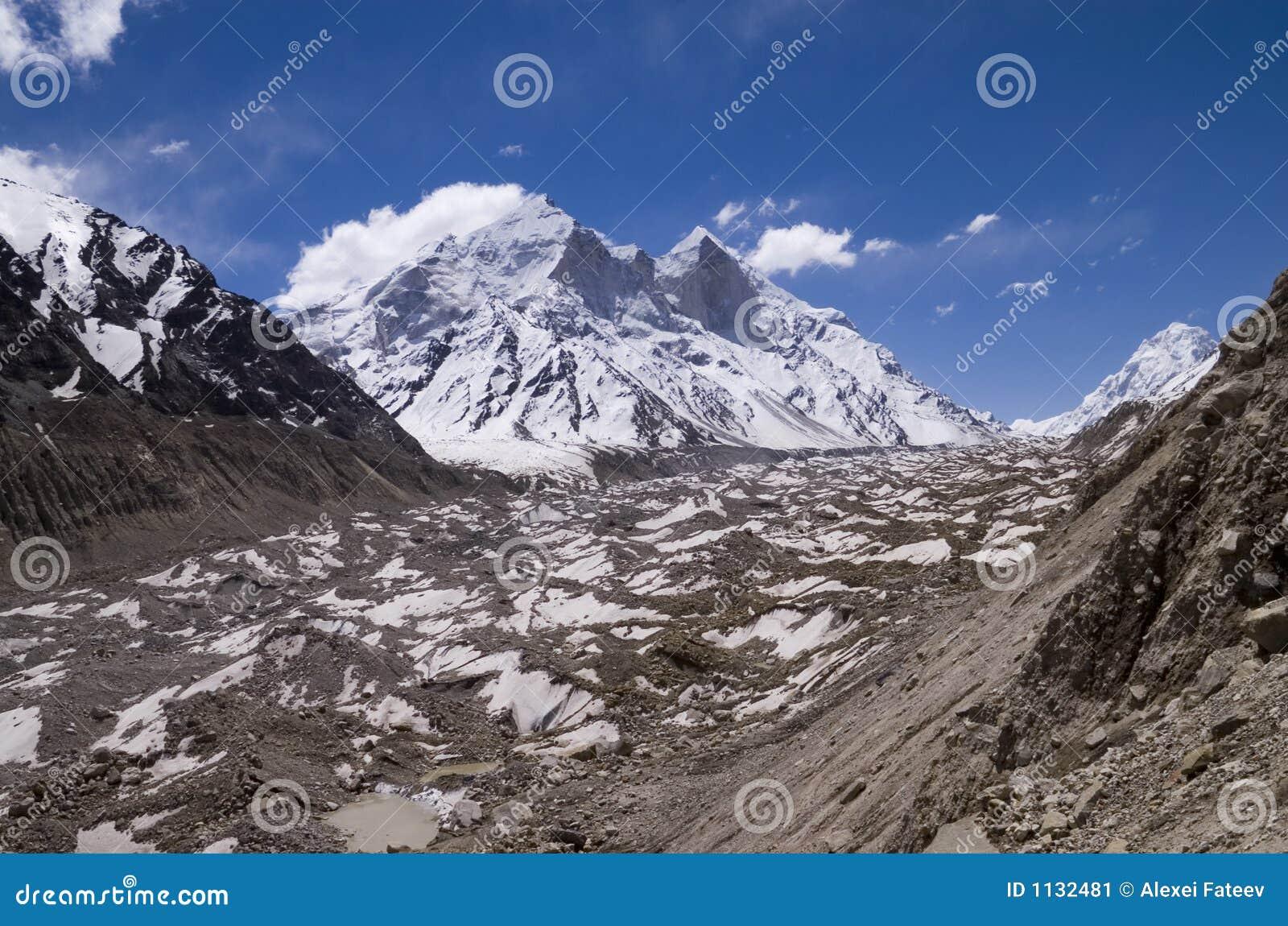 Glacier Gangotri, Inde