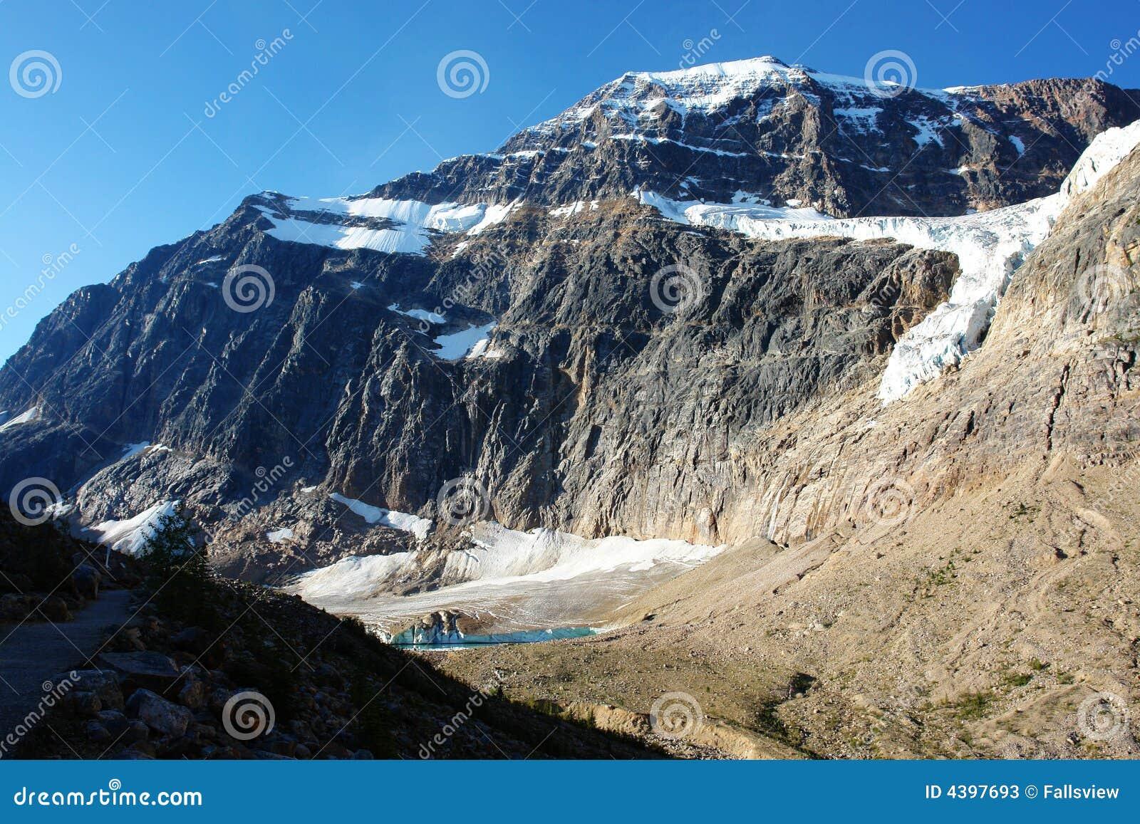 Glacier in mount edith