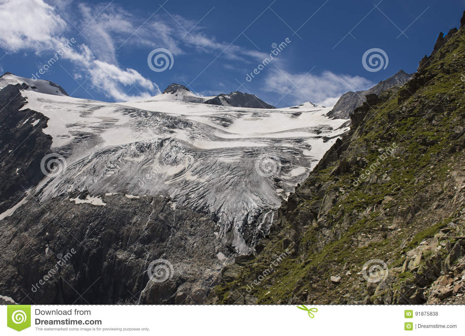 Top of Tyrol • Viewing platform Stubai Glacier
