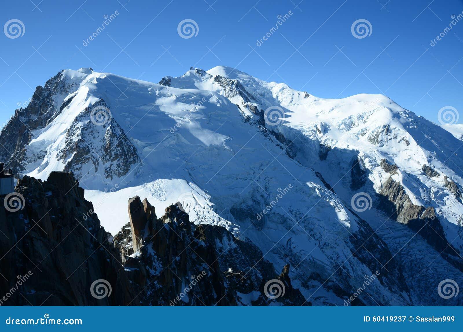 Glacier sur Mont Blanc
