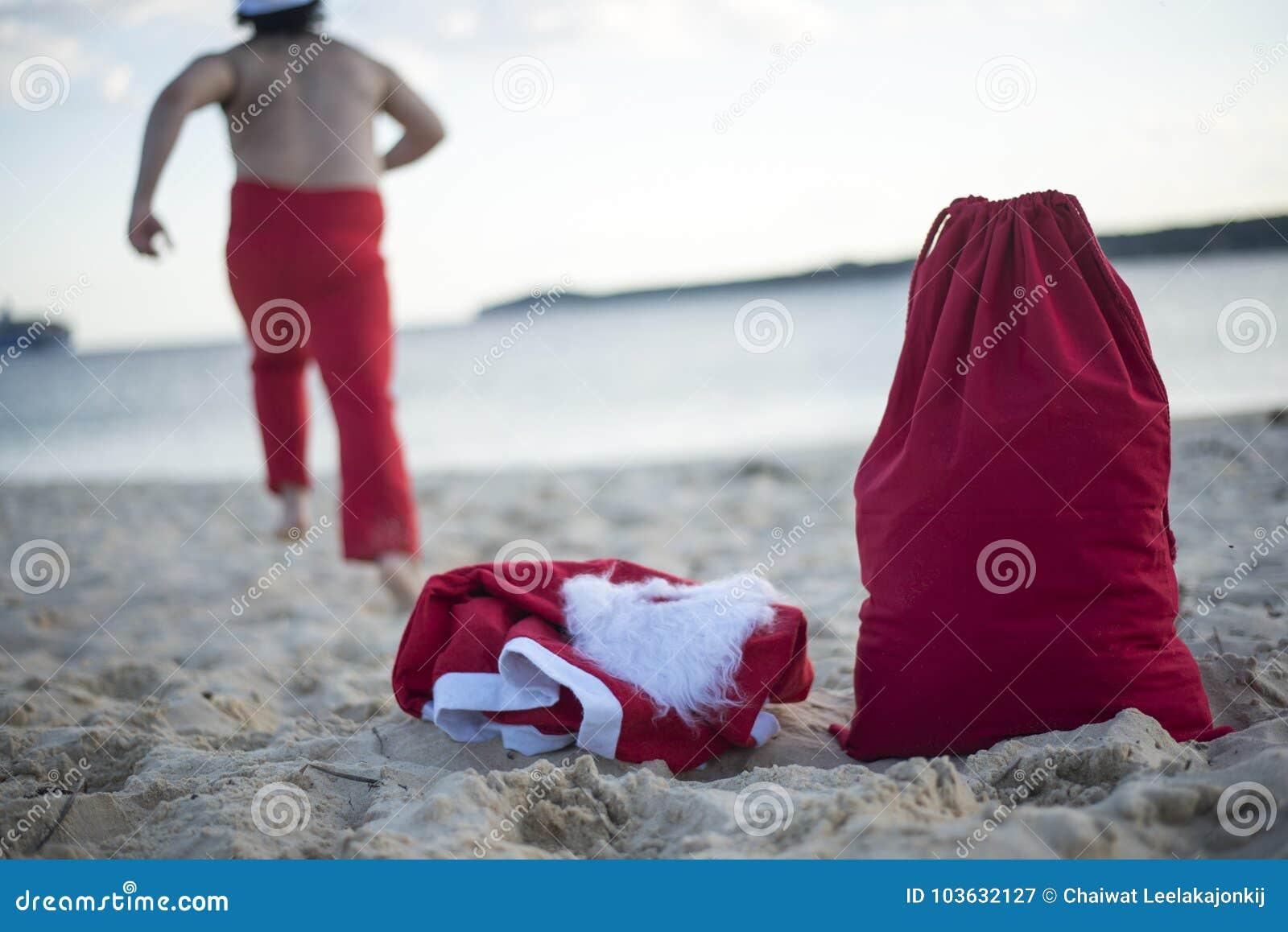 Glad jul i sommar från tropiskt klimat