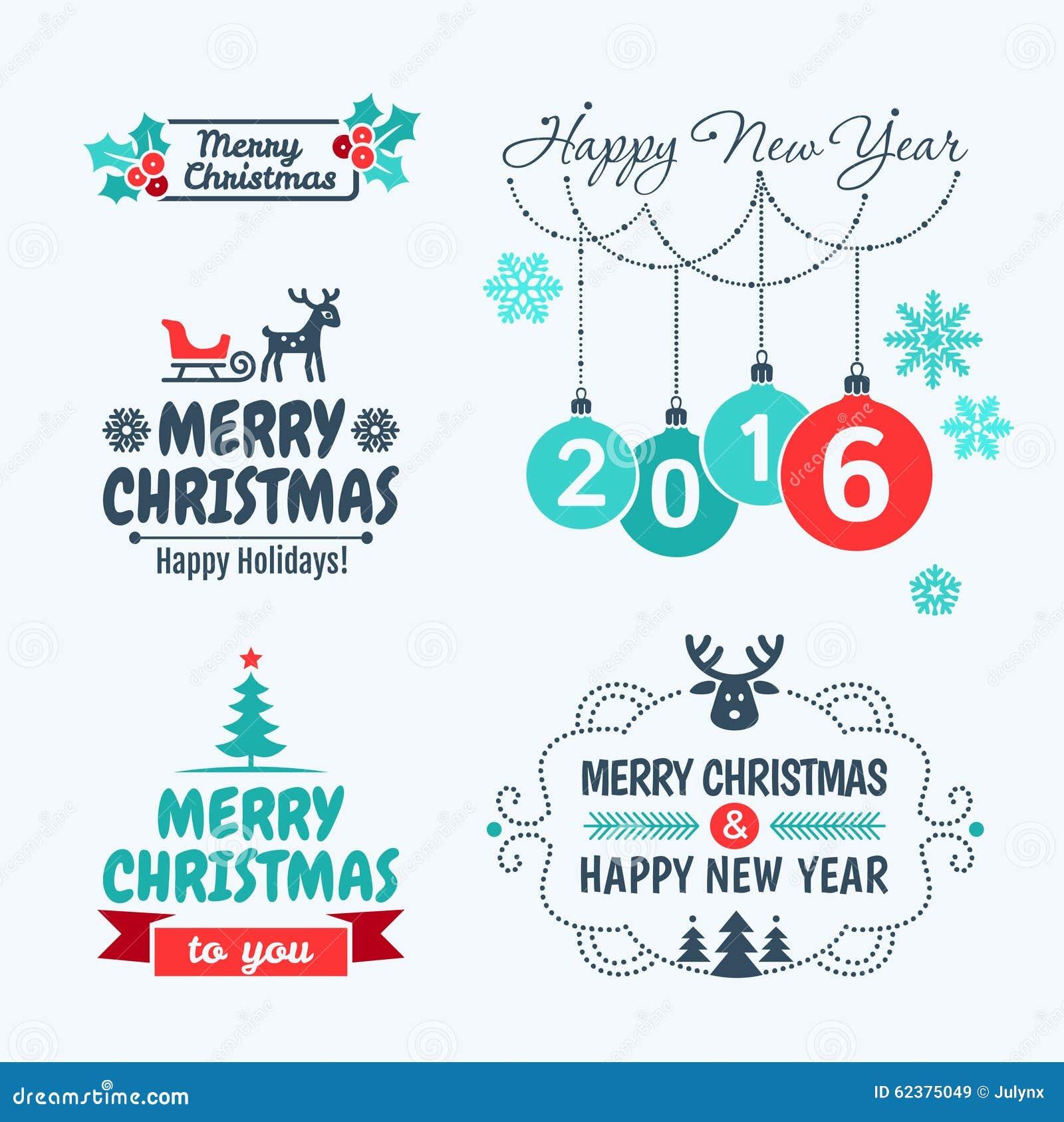 Glad jul och lyckligt nytt år 2016