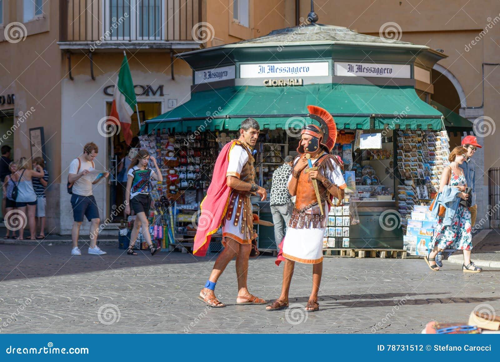 Gladiatorer i den Navona fyrkanten