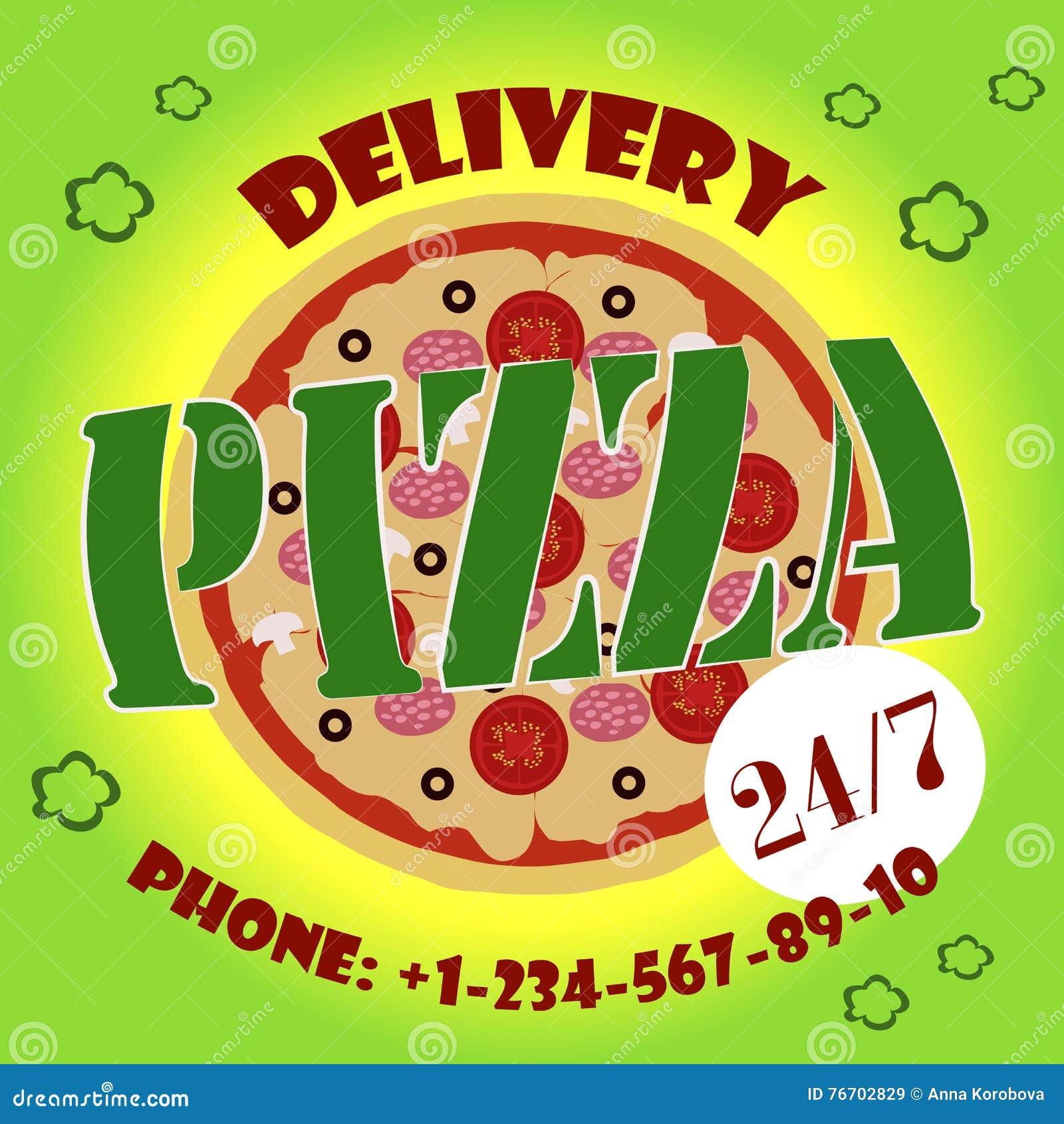 Gladlynt ungt bud som rymmer en pizzaask, medan isolerat på vit
