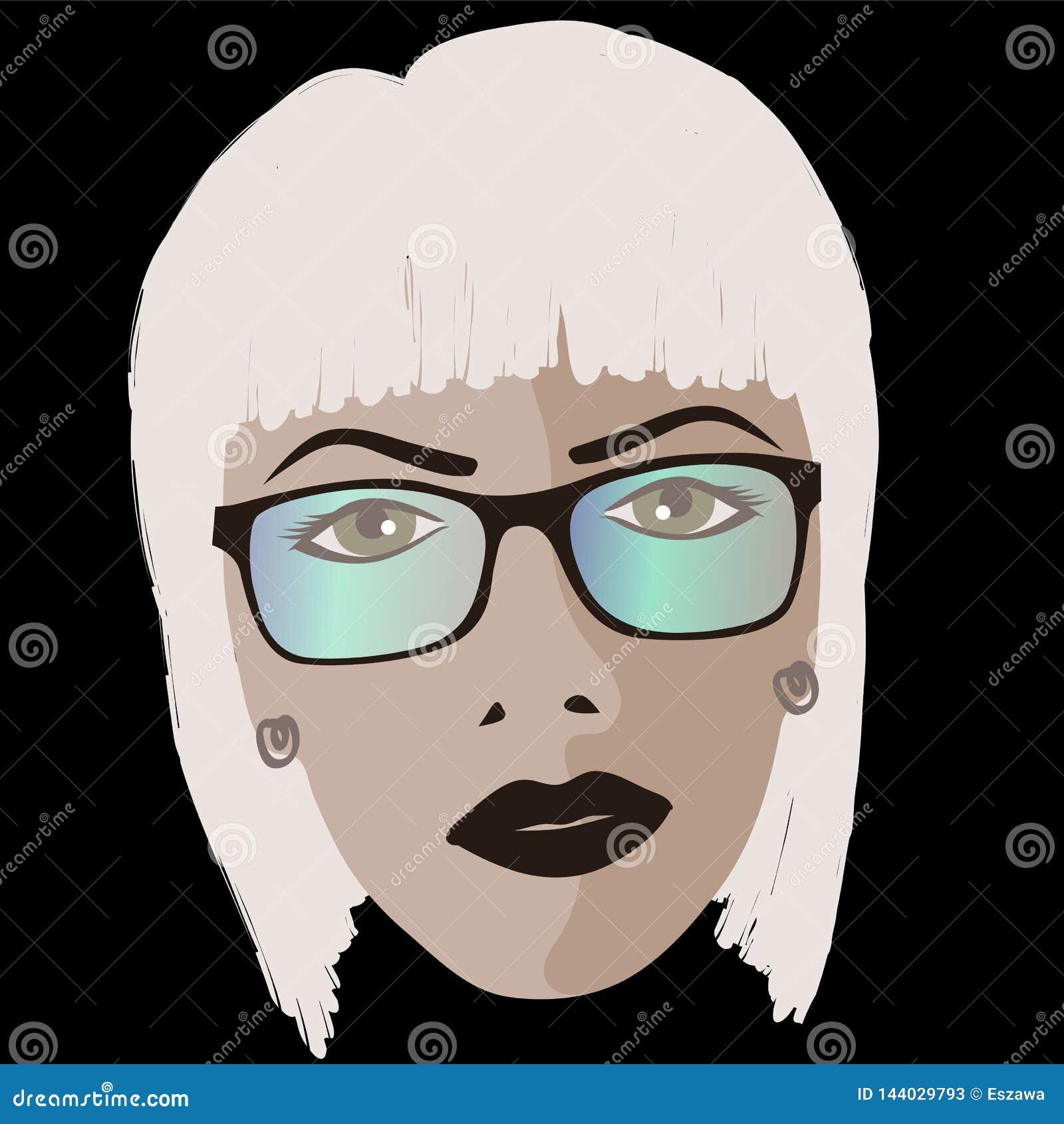 Glamor girl wears sunglasses