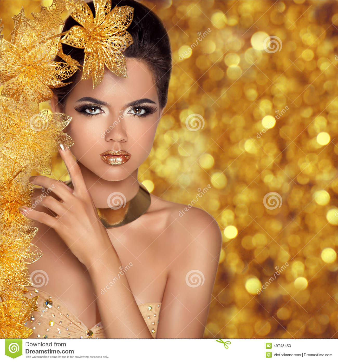 Glamorous Beauty Portrait Stock Photo - Image: 65790636