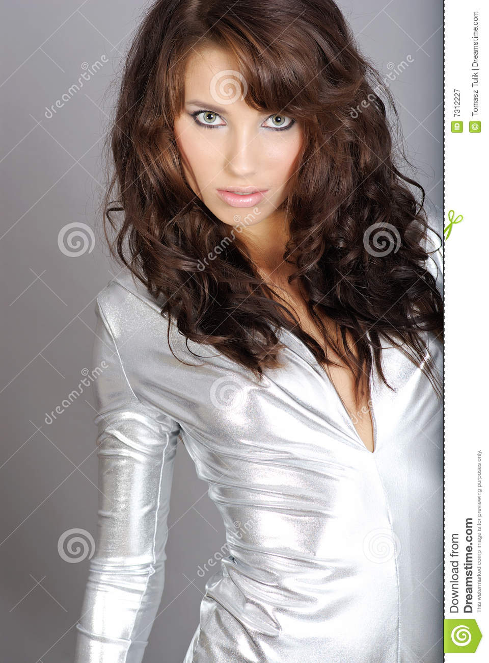 Glamour And Fashion Girl Royalty Free Stock Photography