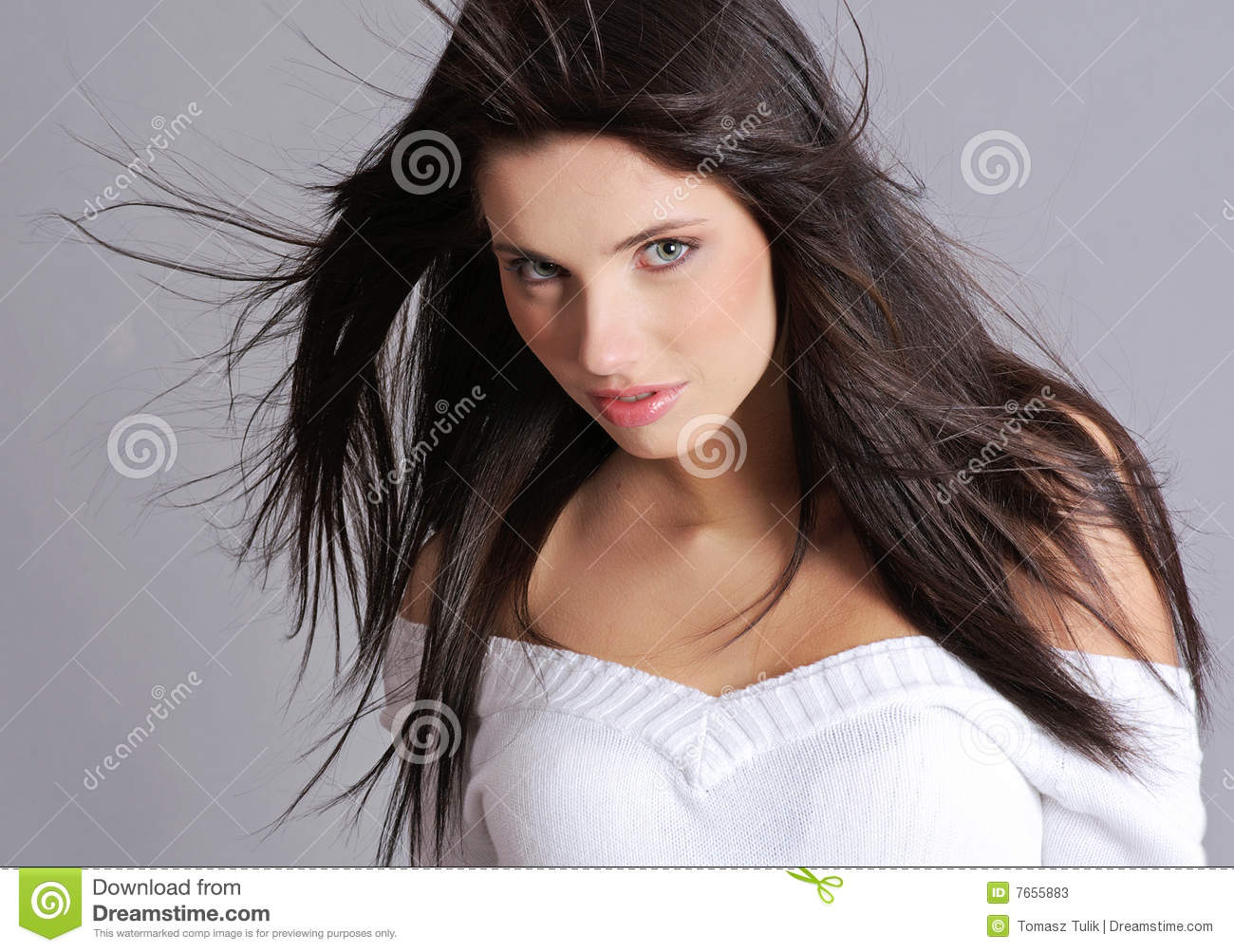Glamour And Fashion Girl Stock Photos Image 7655883