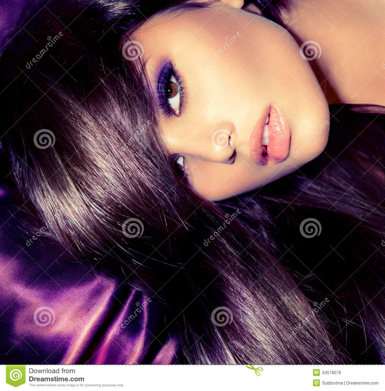 Glamour Fashion Woman Portrait Stock Photo Image 34578076