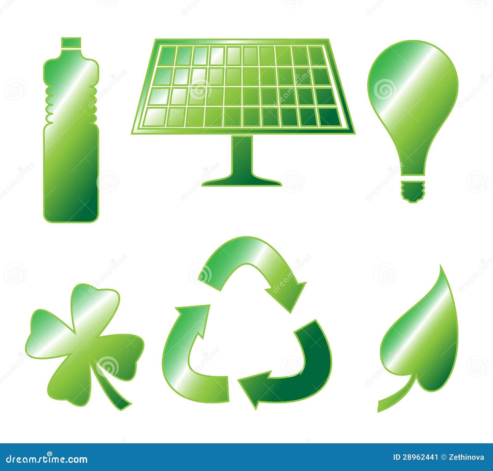 Glansowany Iść Zielone ikony