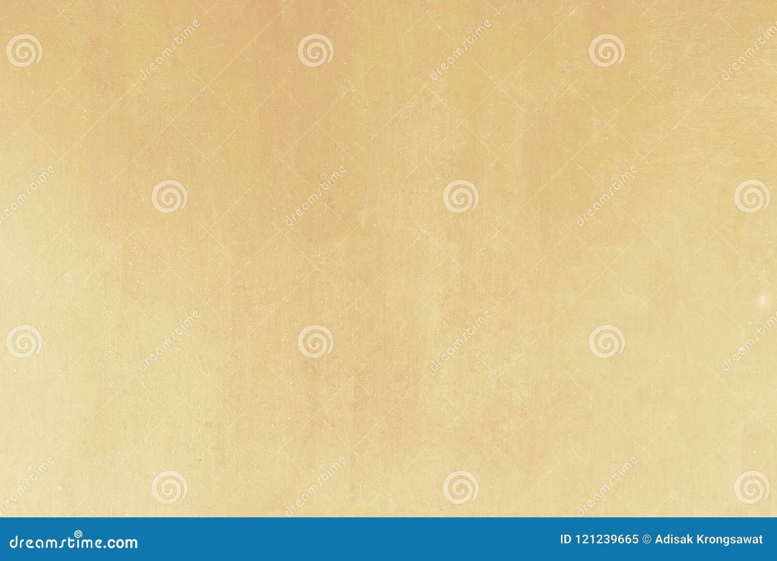 Glanzende gele de textuurachtergrond van de blad gouden folie