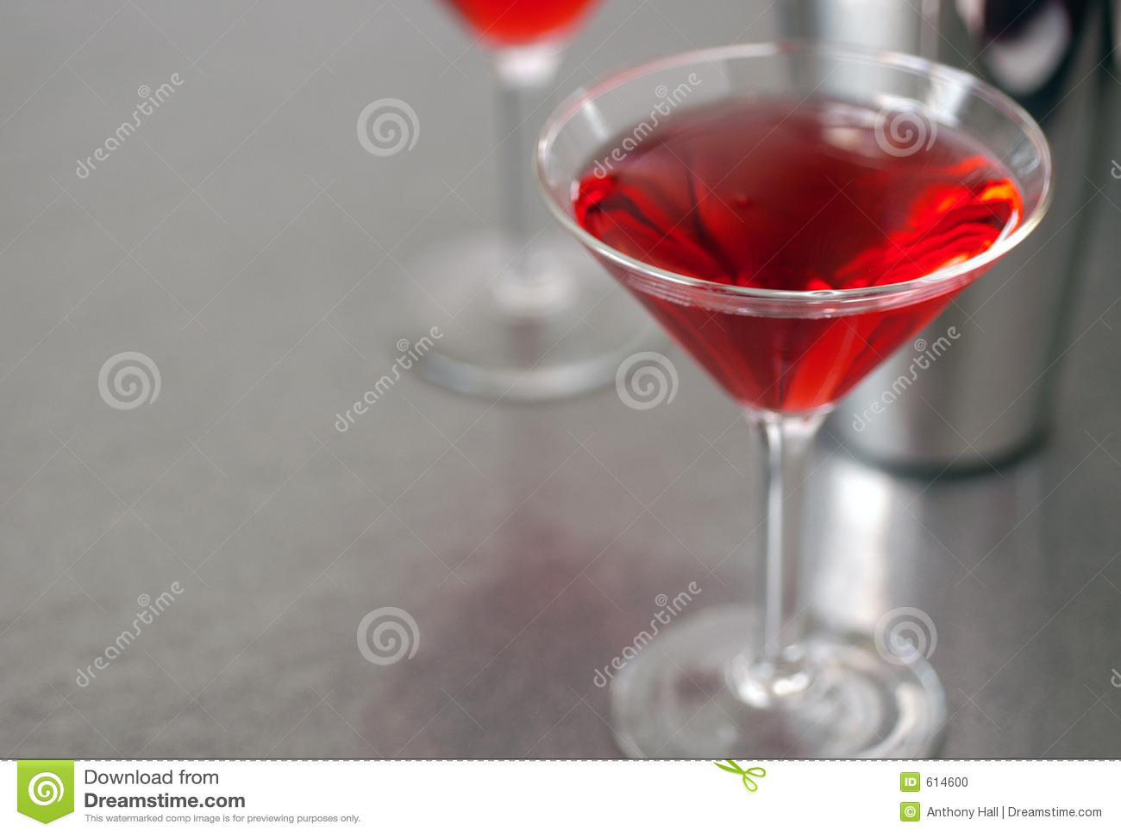 Glas 4 van de cocktail