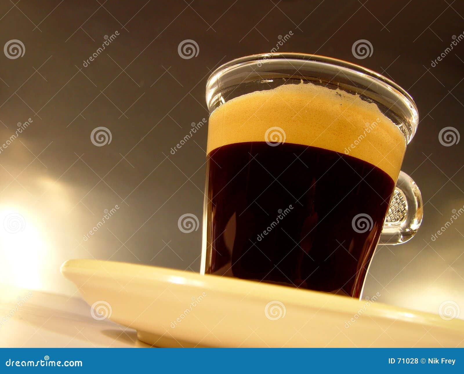 Glas of Coffee