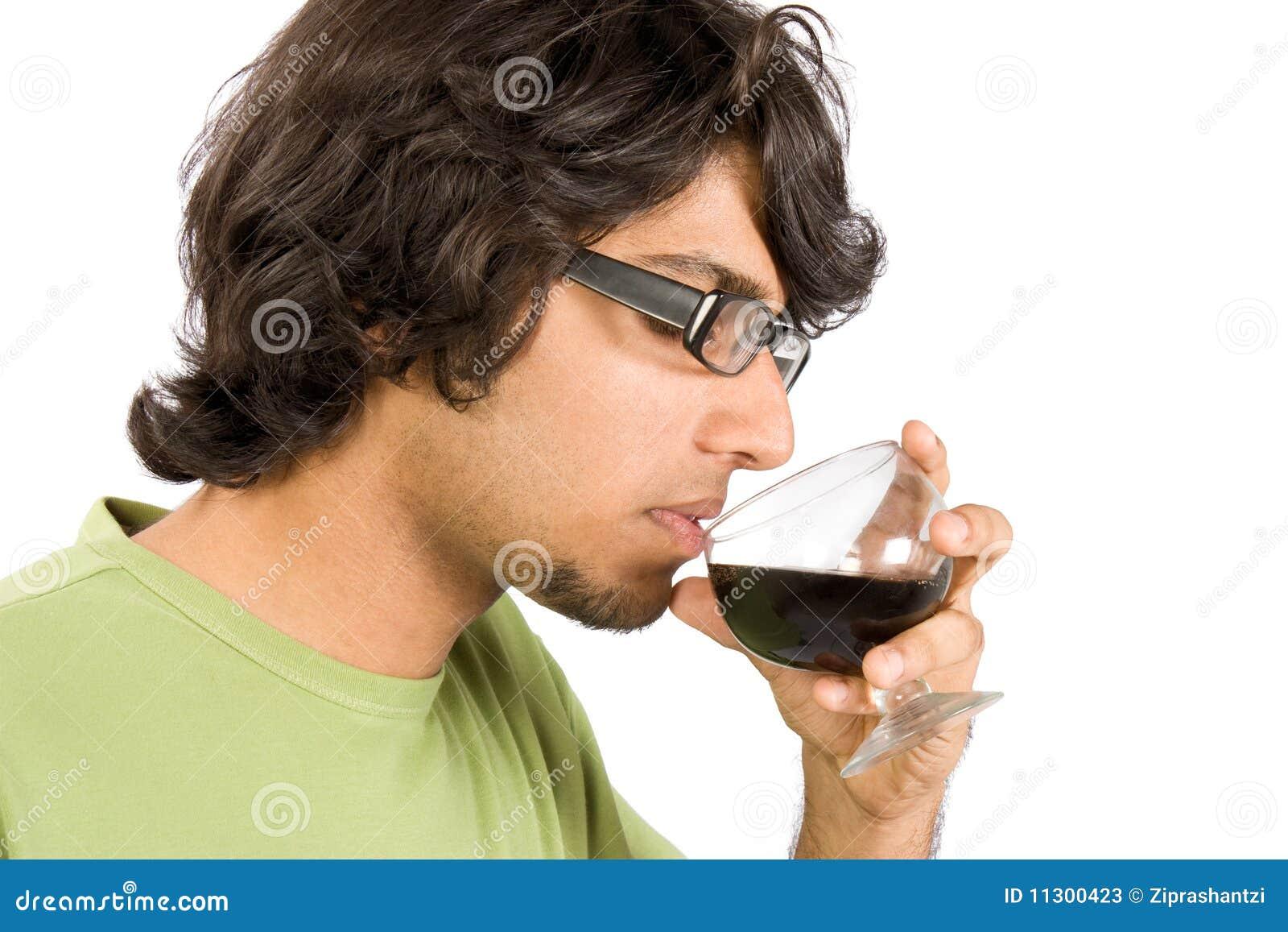 Glas des Getränks