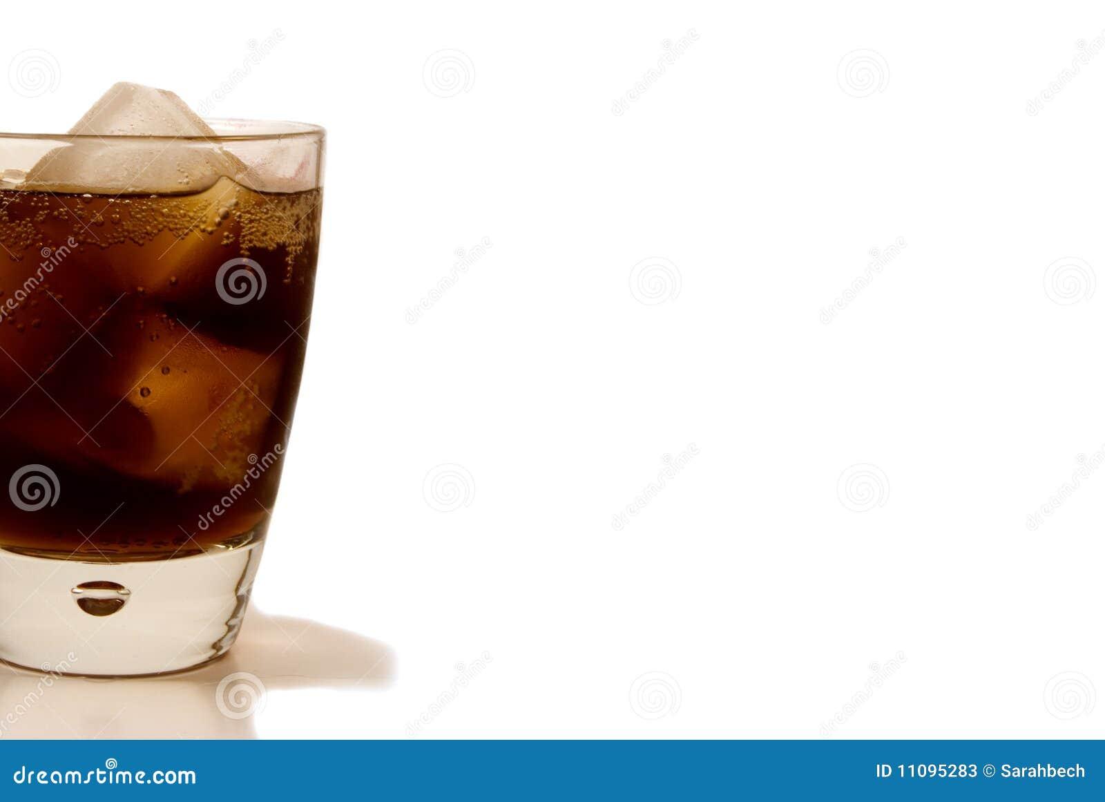 Glas des Soda-Knalls