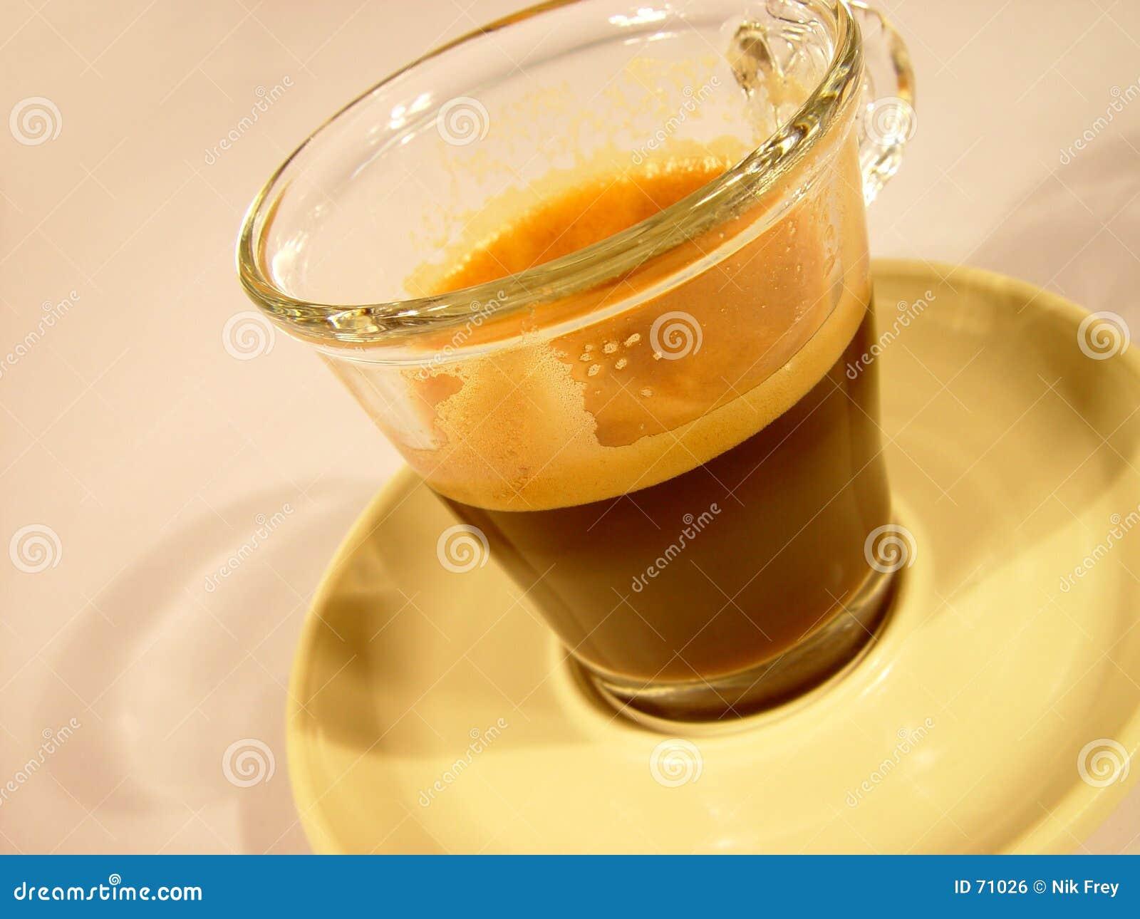 Glas do café