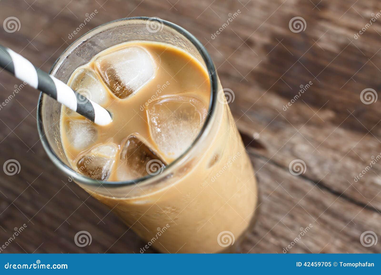 Glas kalter Kaffee