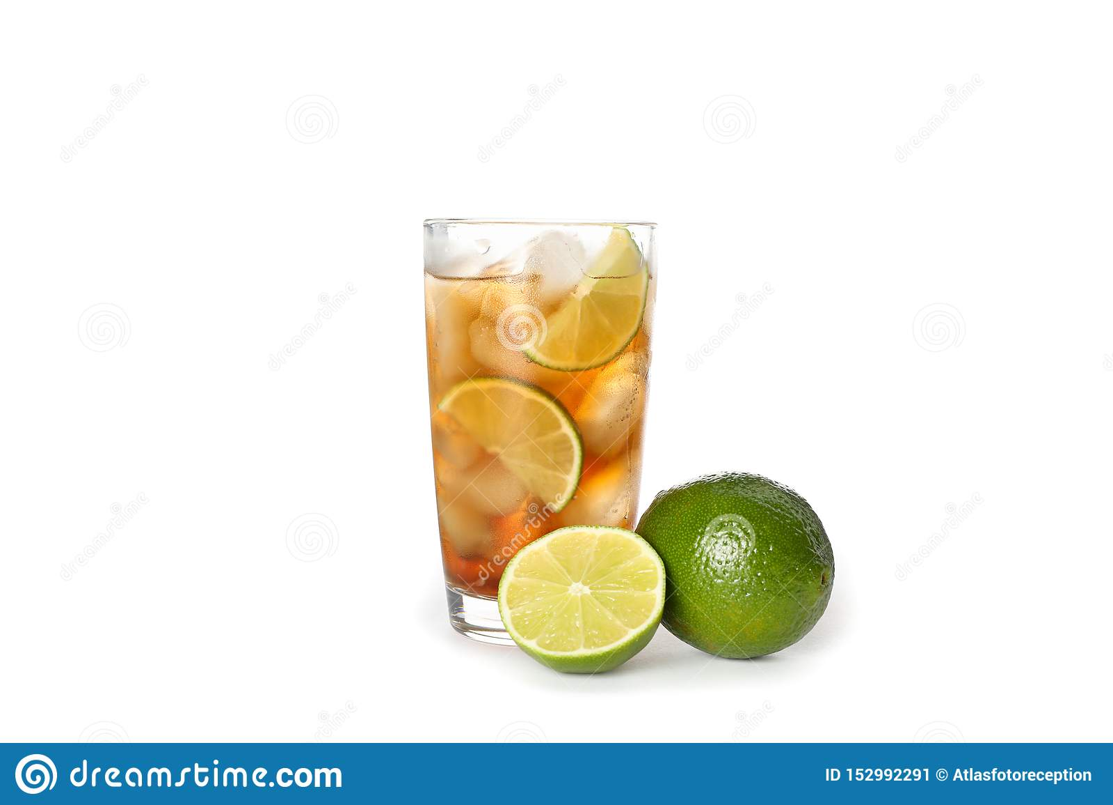 Glas kalter Kolabaum lokalisiert
