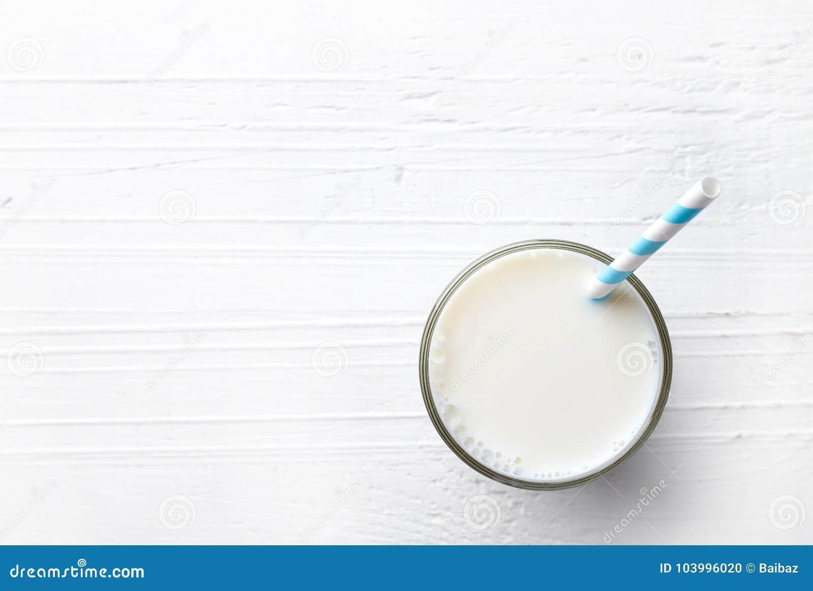 Glas melk van hoogste mening
