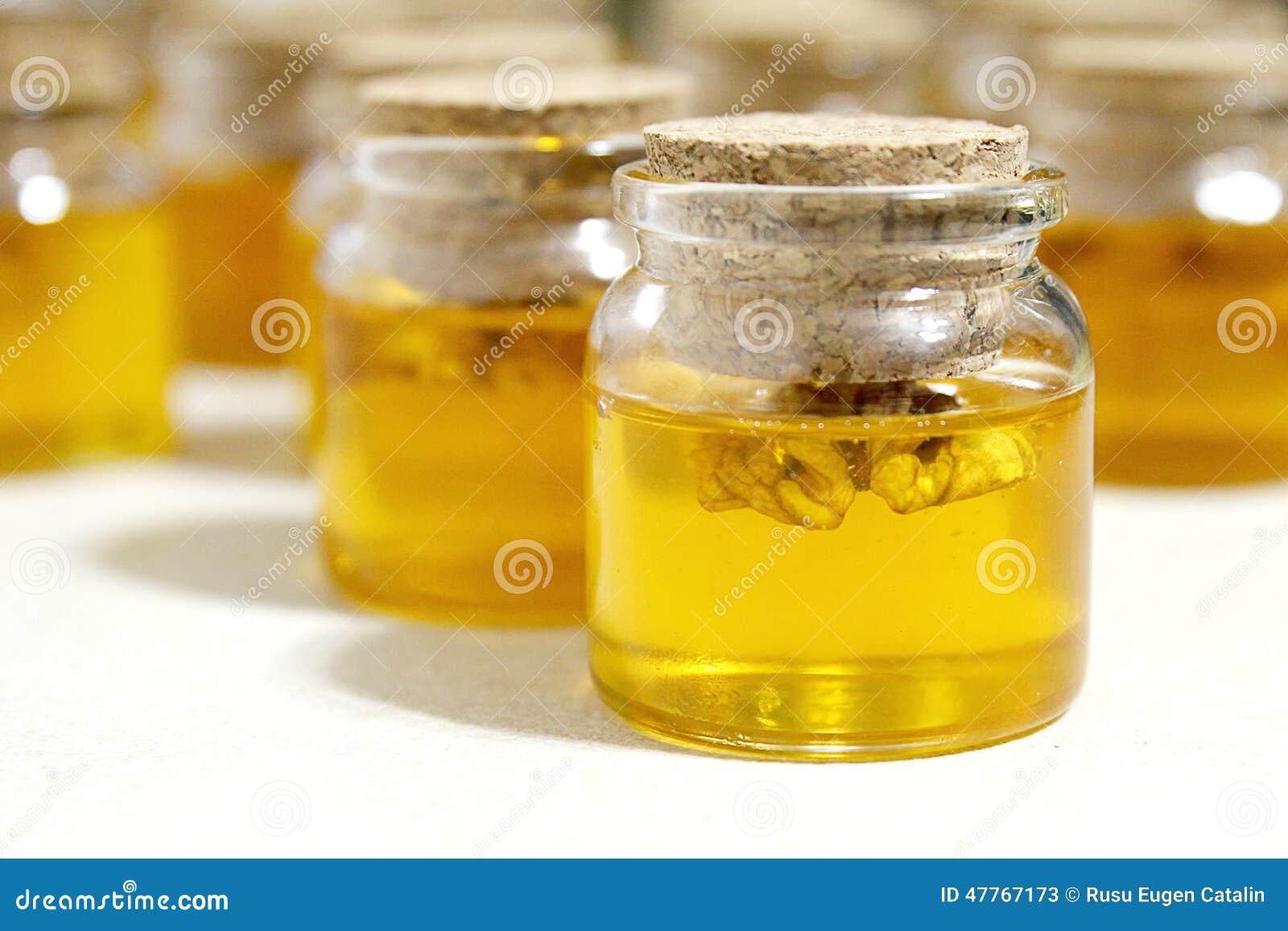 Glas mit Honig
