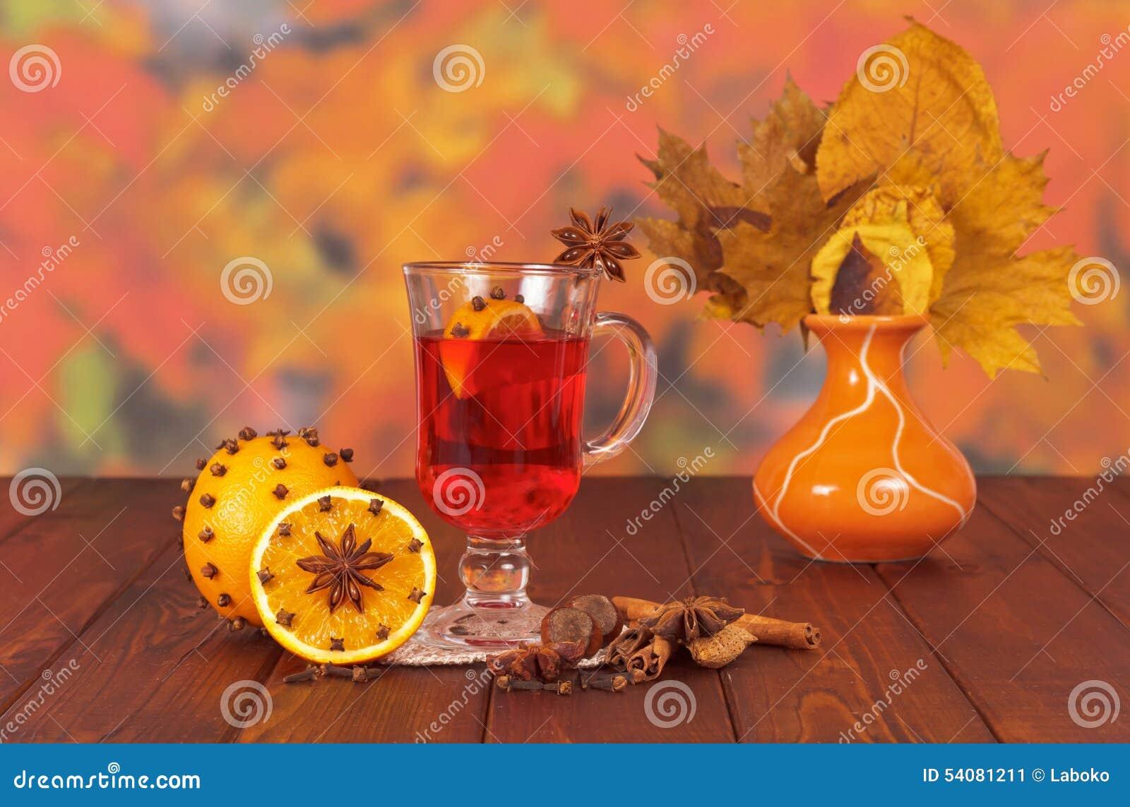 Glas overwogen wijn