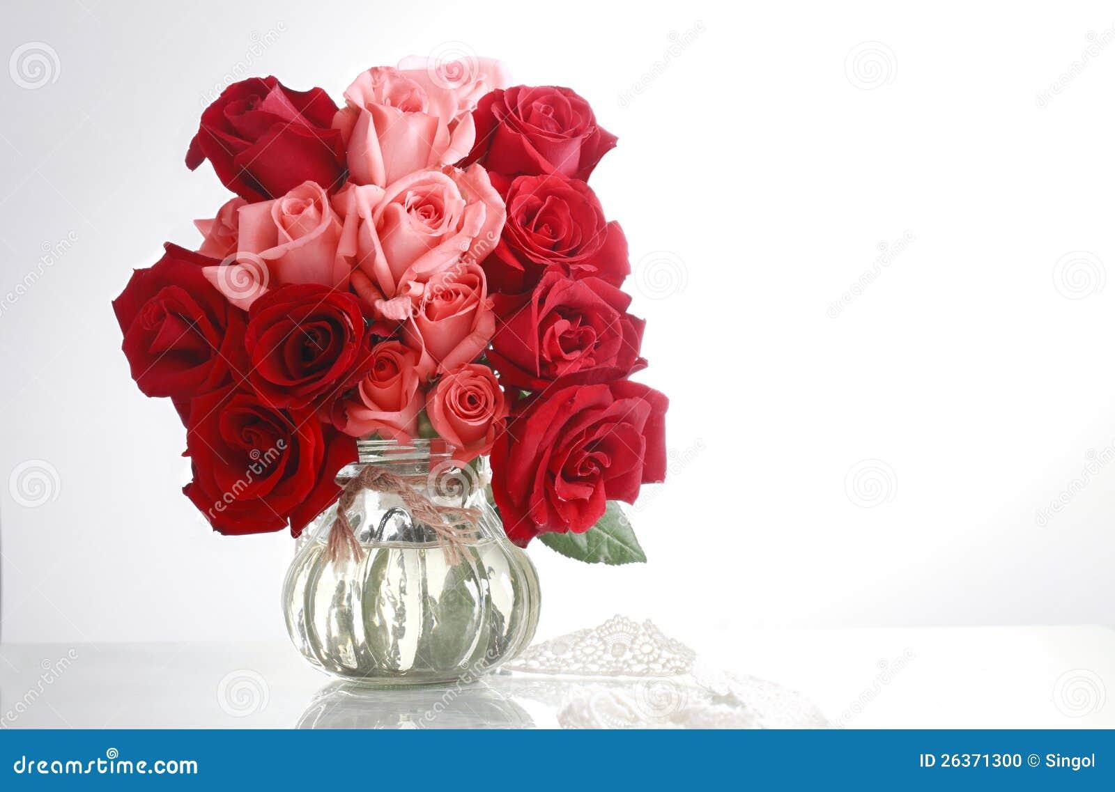 Glas und rose4