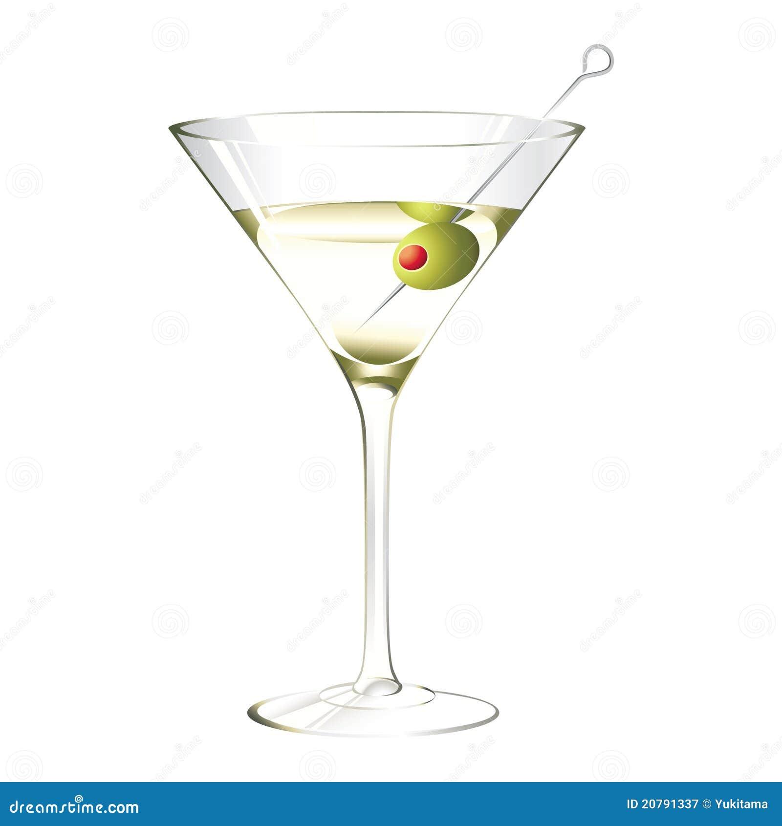 Glas van martini