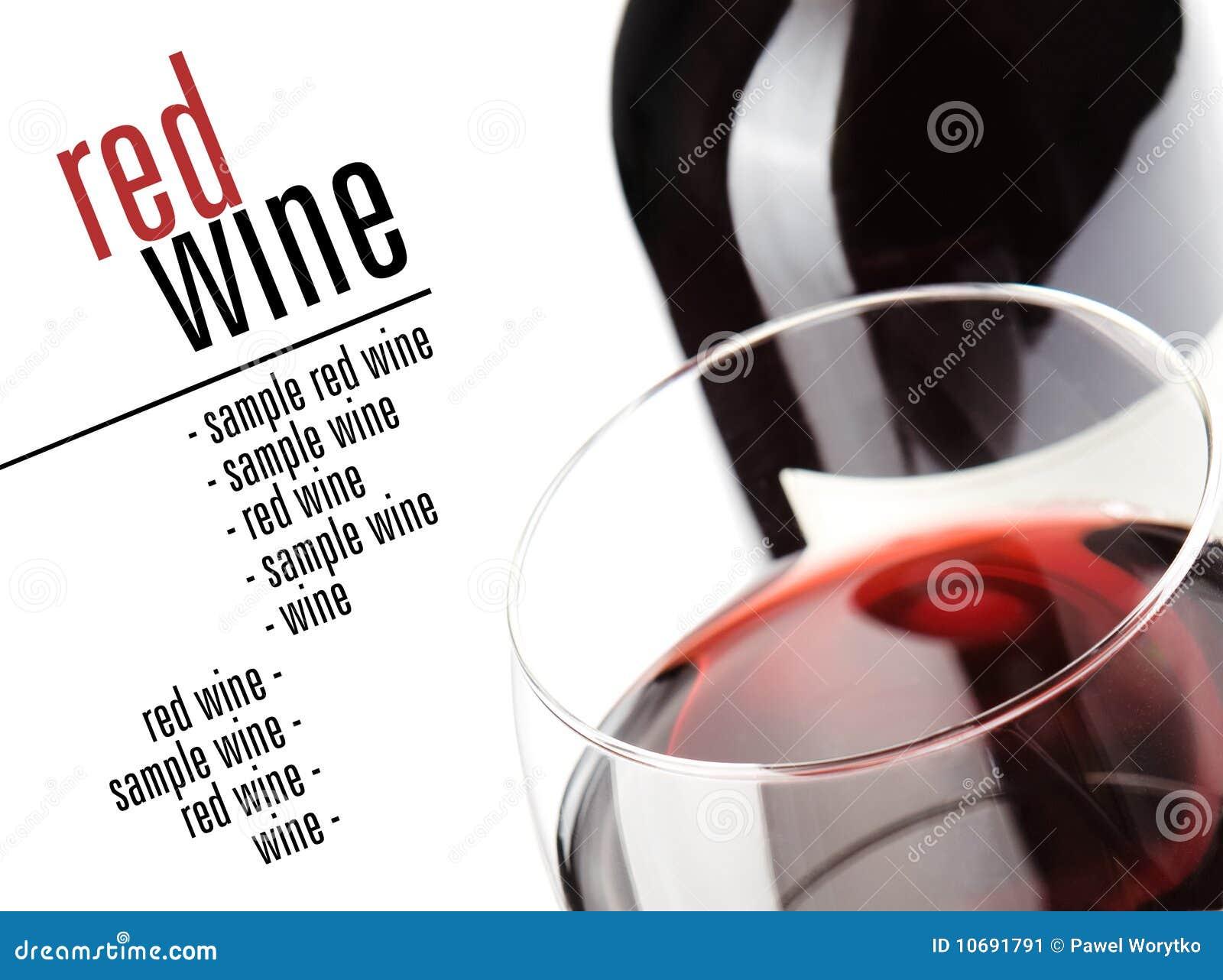 Glas van rood gejank