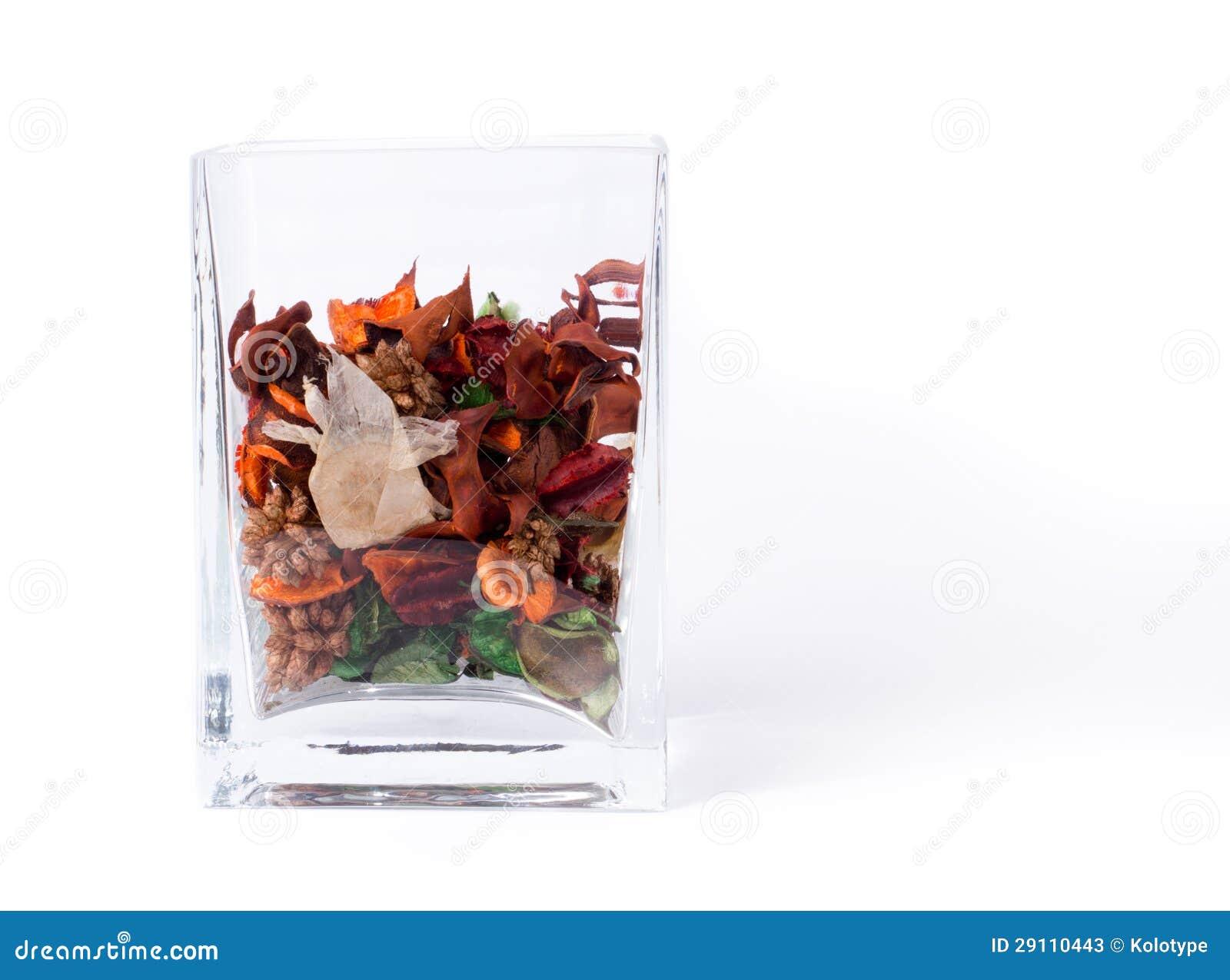 Glasbehälter Potpourri