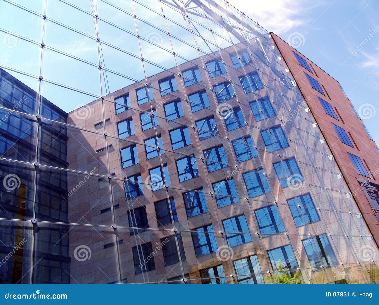 Glasfrontseite