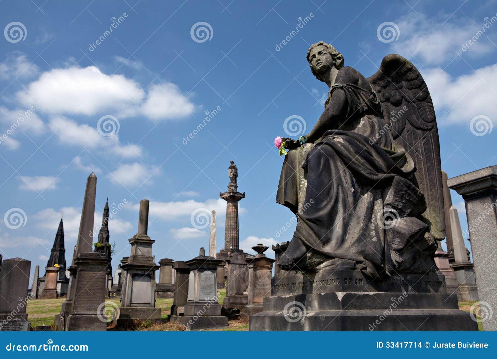 Glasgow Necropolis.