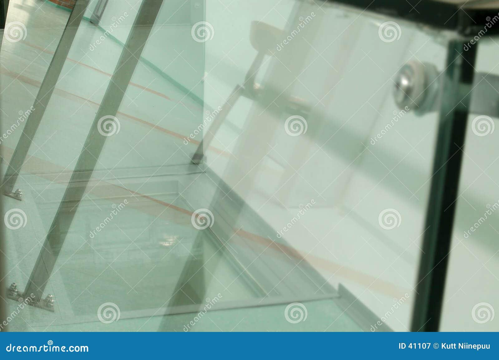 Glasige Oberflächen
