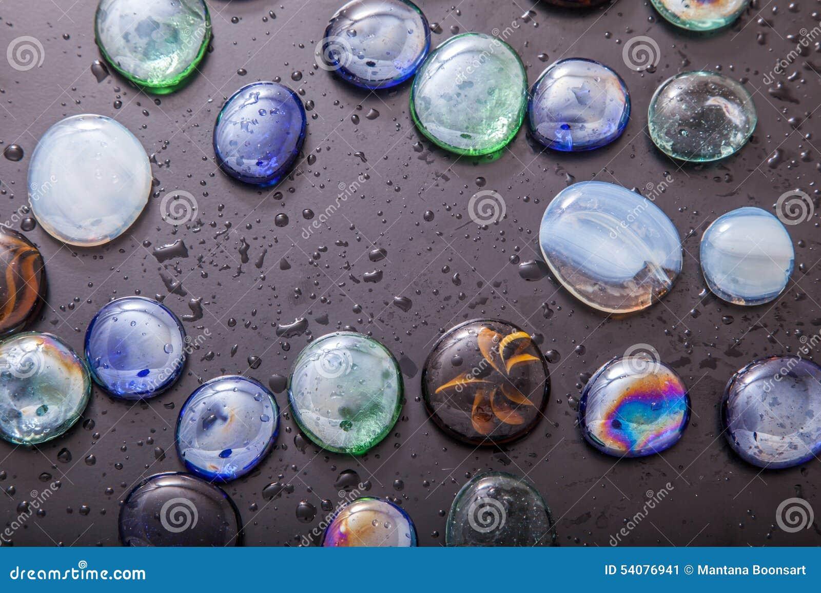 Glaskiezelstenen