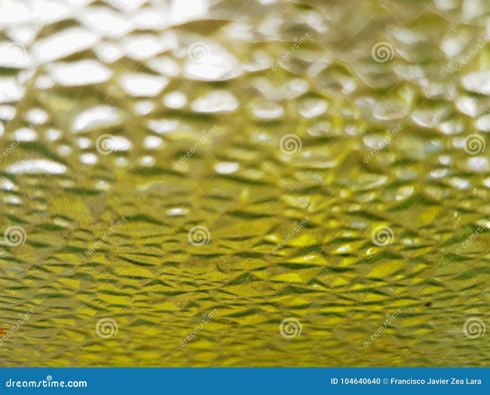 Download Glaskorrels Met Gele, Vuile, Geweven Achtergrond Stock Foto - Afbeelding bestaande uit samenvatting, geweven: 104640640