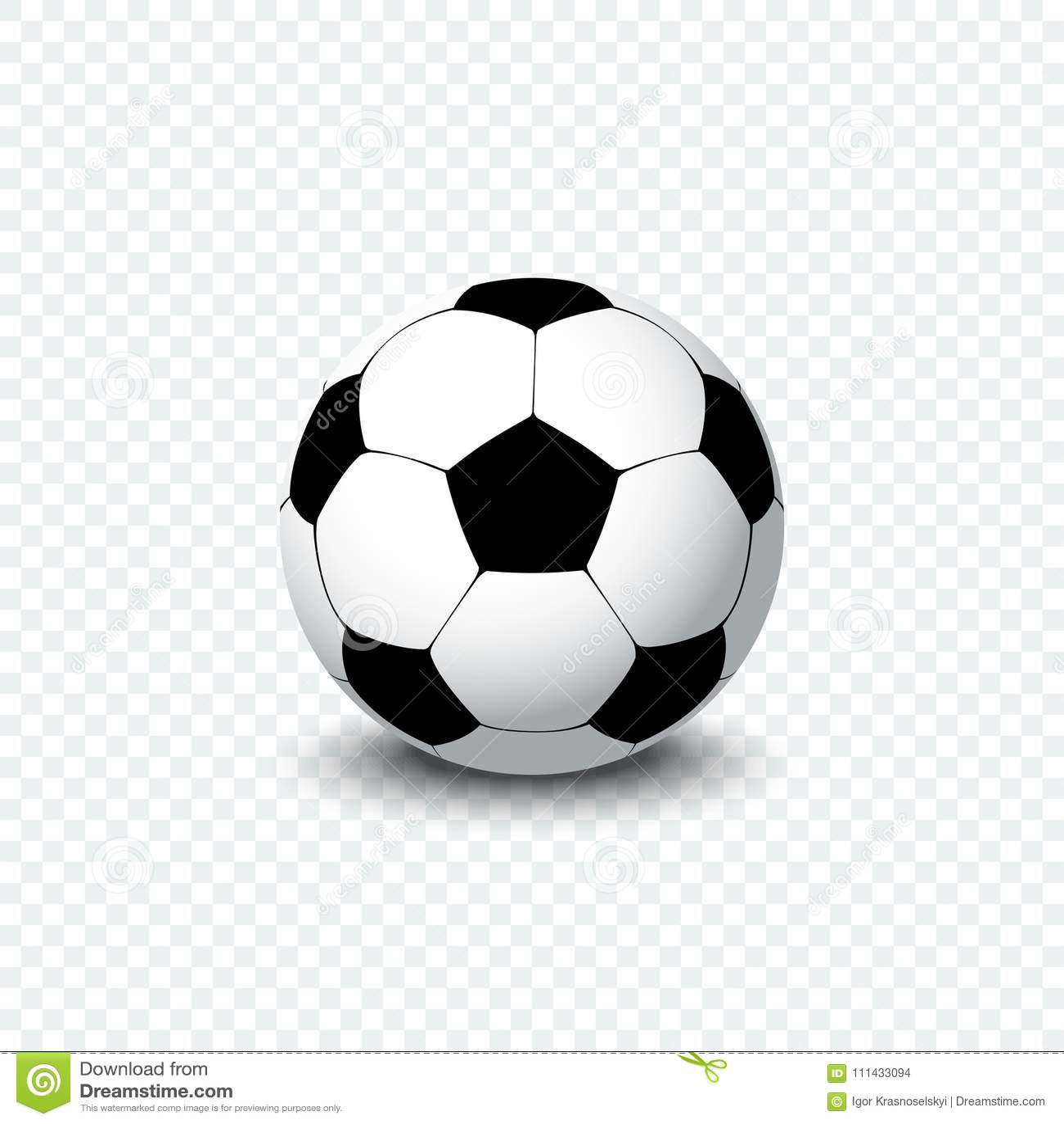 Glaskugel Burning Realistischer Fussballball Oder Fussball