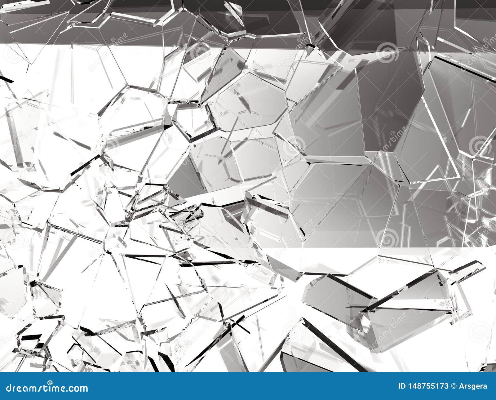 Glasplatten defekt oder gebrochen