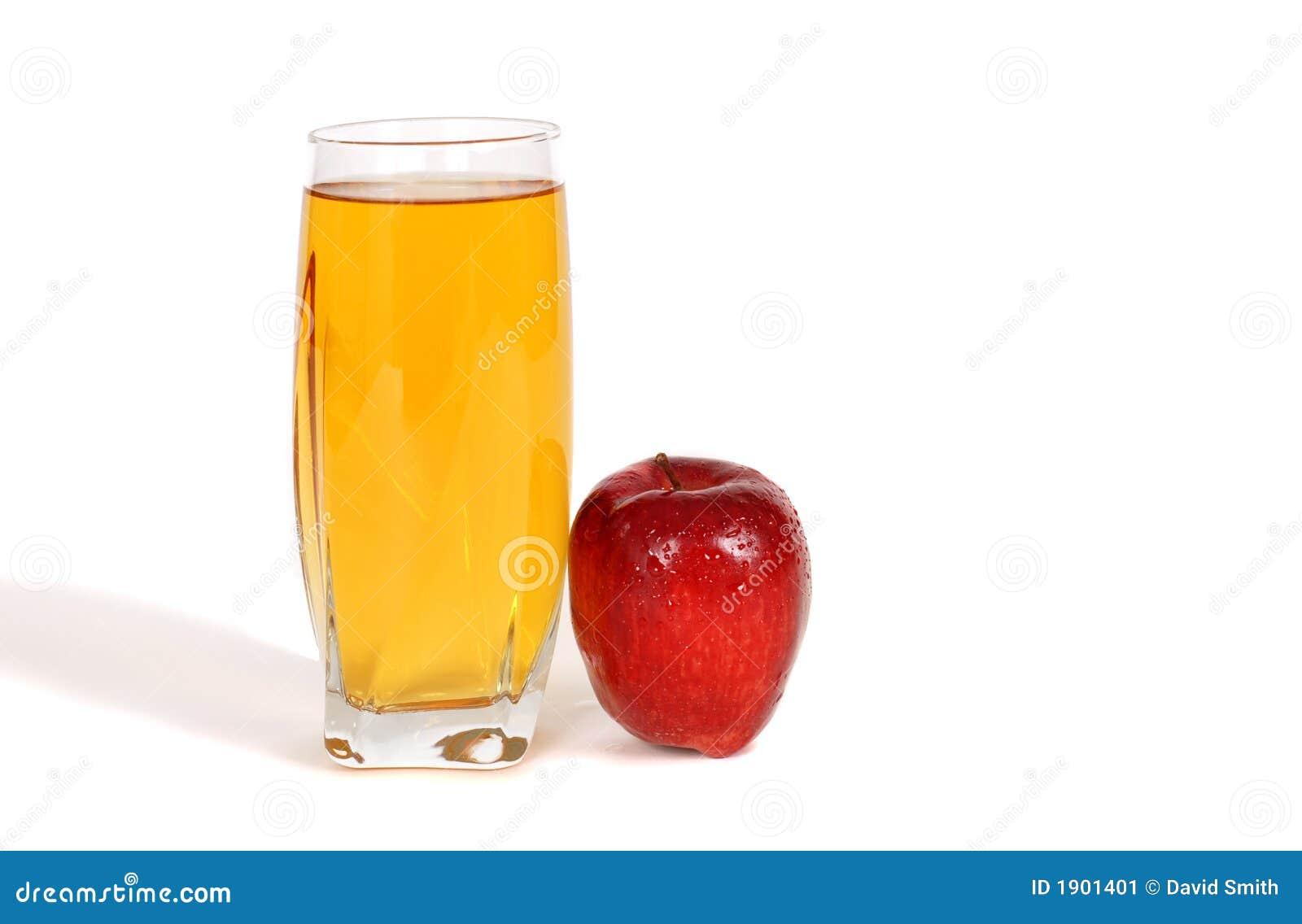 Glass Of Apple Juice Stock Image - Image: 1901401