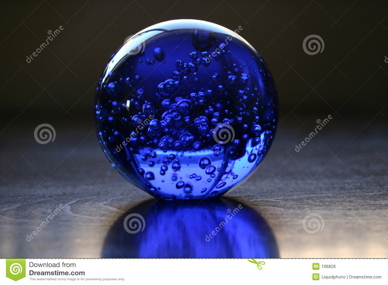 Glass Ball Stock Photo Image Of Round Positioning