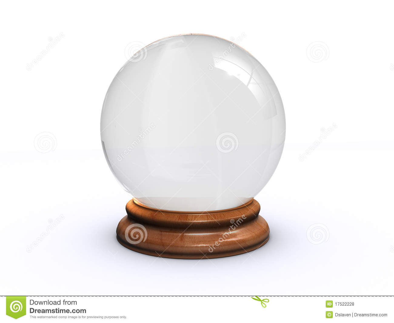 glass ball stock illustration image of wizard ball 17522228. Black Bedroom Furniture Sets. Home Design Ideas