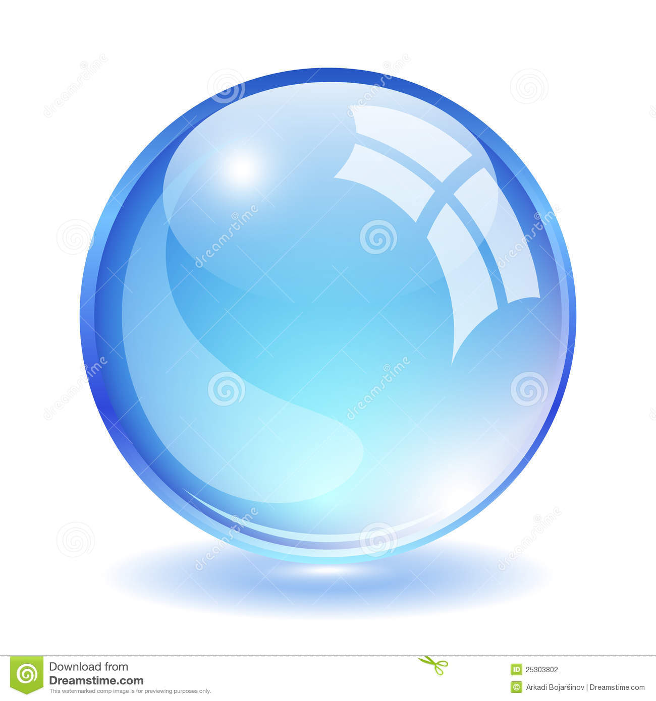 Glass Ball Stock Photography - Image: 25303802